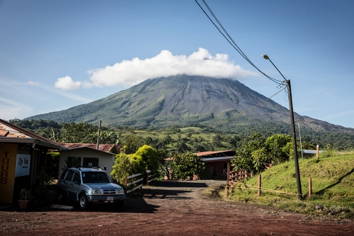Vulkan Arenal, Costa Rica am Samstag (13.05.2017). Foto: Tanja Demarmels